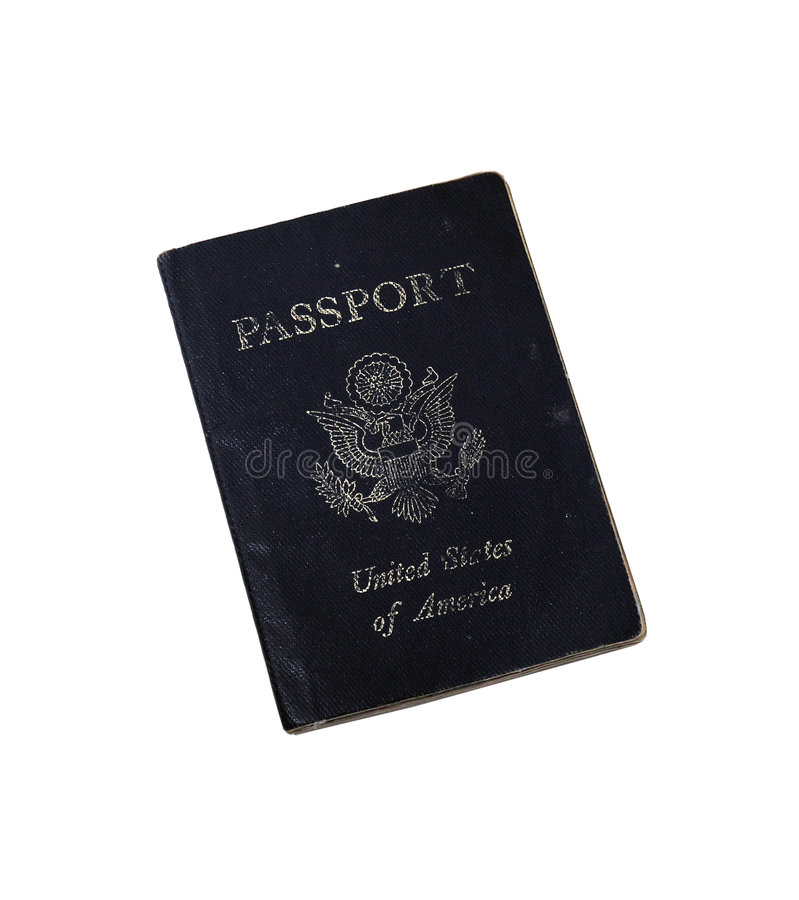paszport, zdjęcie stock