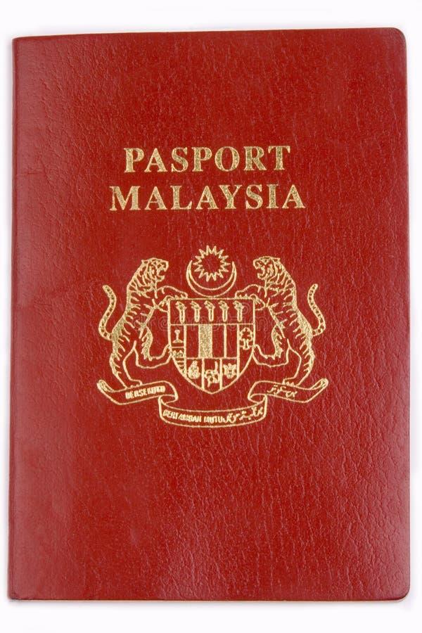 paszport malaysia obraz stock