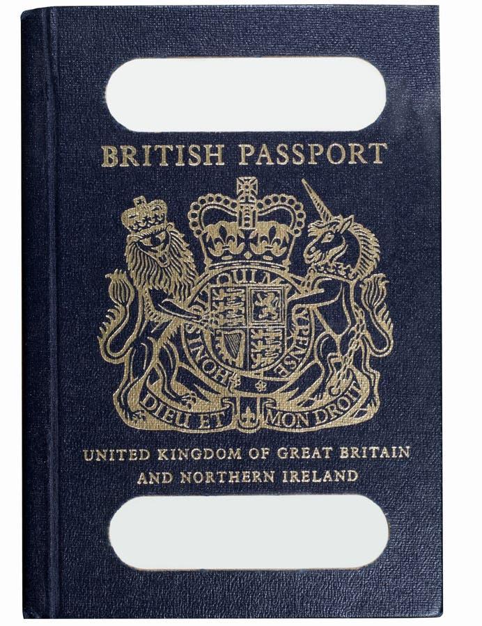 paszporta brytyjski stary styl obrazy royalty free