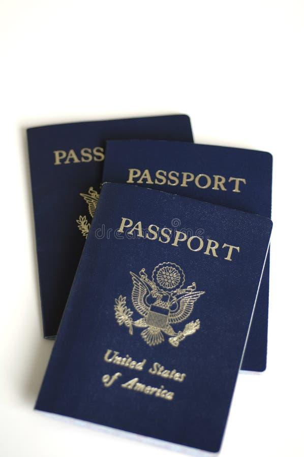paszporty, fotografia stock