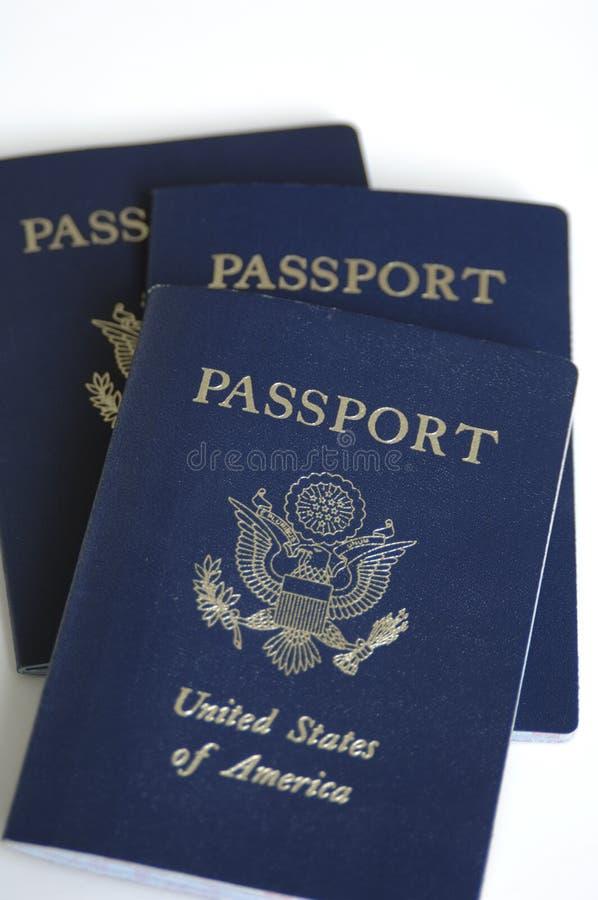paszporty, zdjęcie royalty free