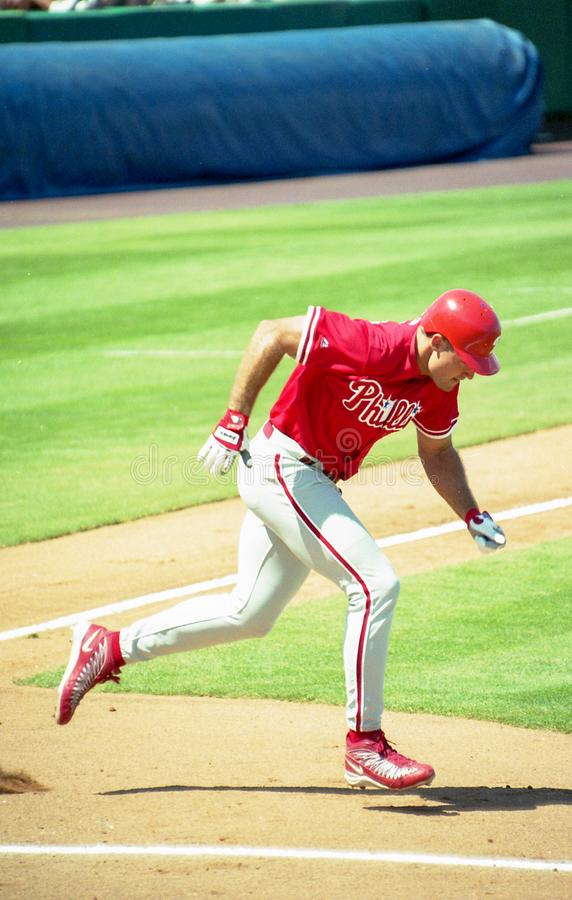 Pat Burrell, Philadelphia Phillies imagens de stock