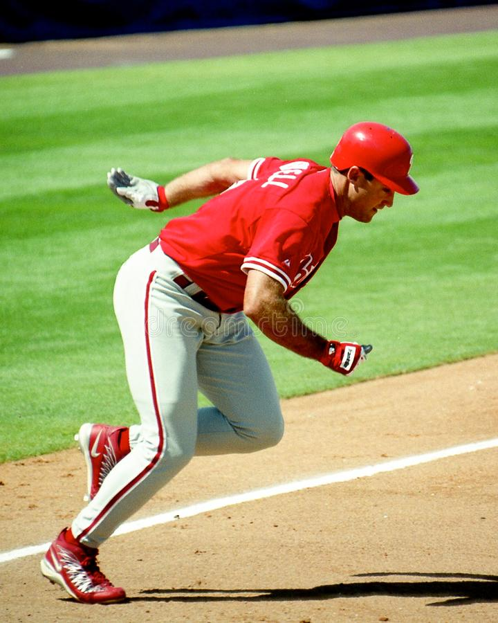 Pat Burrell, Philadelphia Phillies stock image