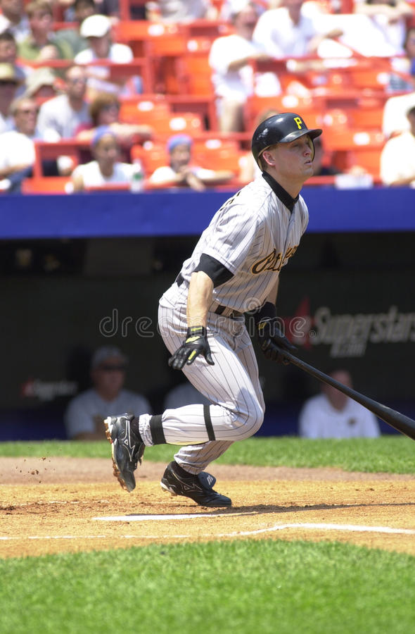 Pat Meares. Pittsburgh Pirates infielder Pat Meares, #2. (Image taken from color slide stock photos