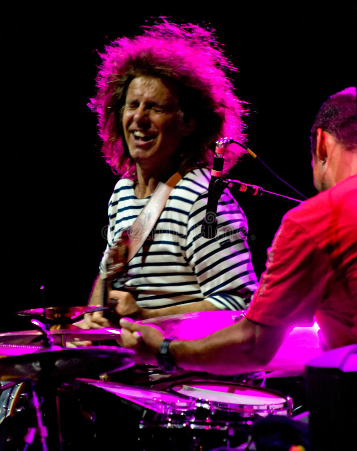 Download Pat Metheny And Antonio Sanchez At Umbria Jazz Editorial Stock Image - Image: 15170769
