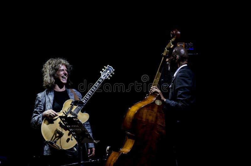 Pat Metheny Carter & Ron zdjęcie stock