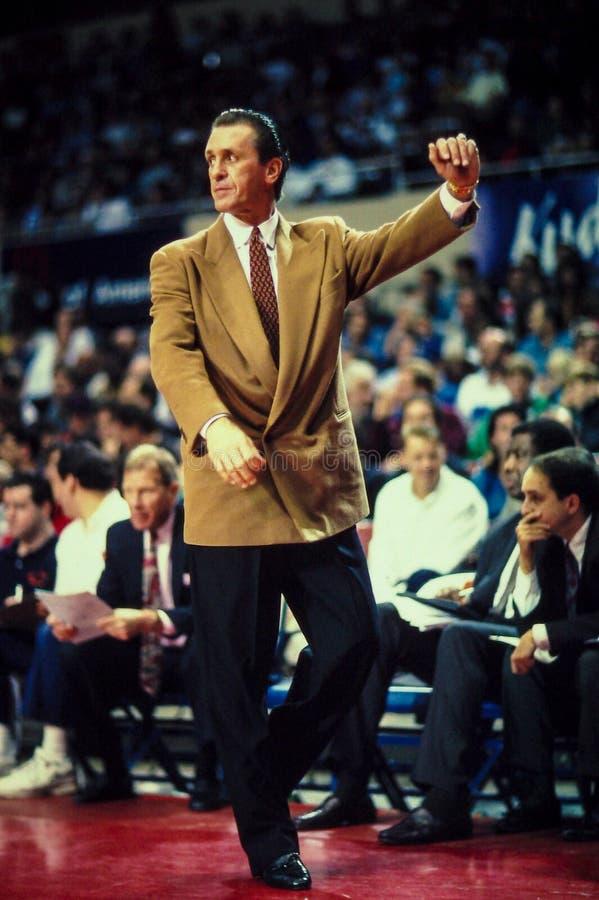 Pat Riley Head Coach foto de stock