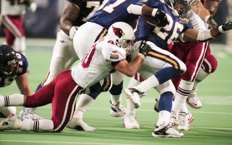 Pat Tillman, Arizona Cardinals fotografia de stock royalty free
