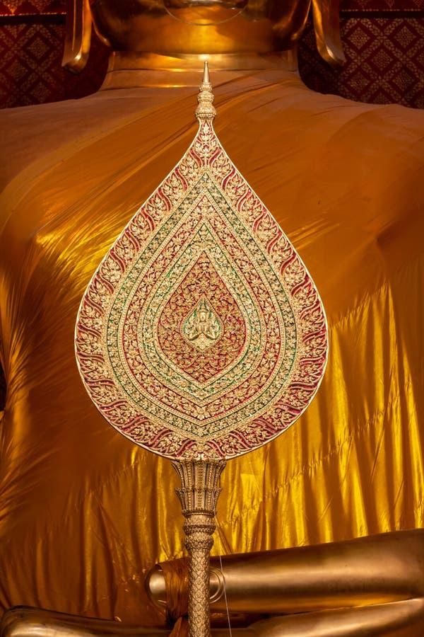 Ayutthaya, Thailand 2018 : Fan of rank in buddhism. Pat yot , fan of rank , blows ranks royalty free stock image