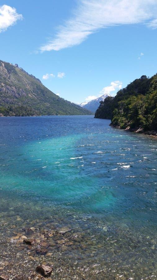 Patagonia湖 库存图片