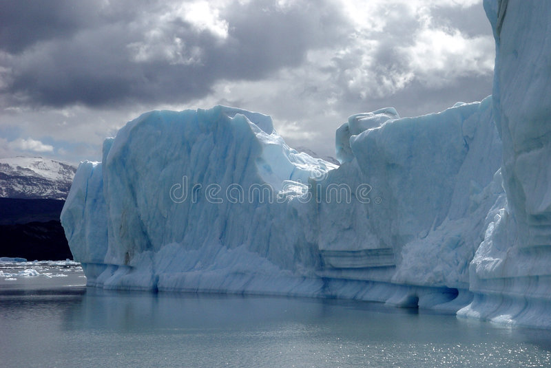 patagonia айсберга стоковая фотография rf