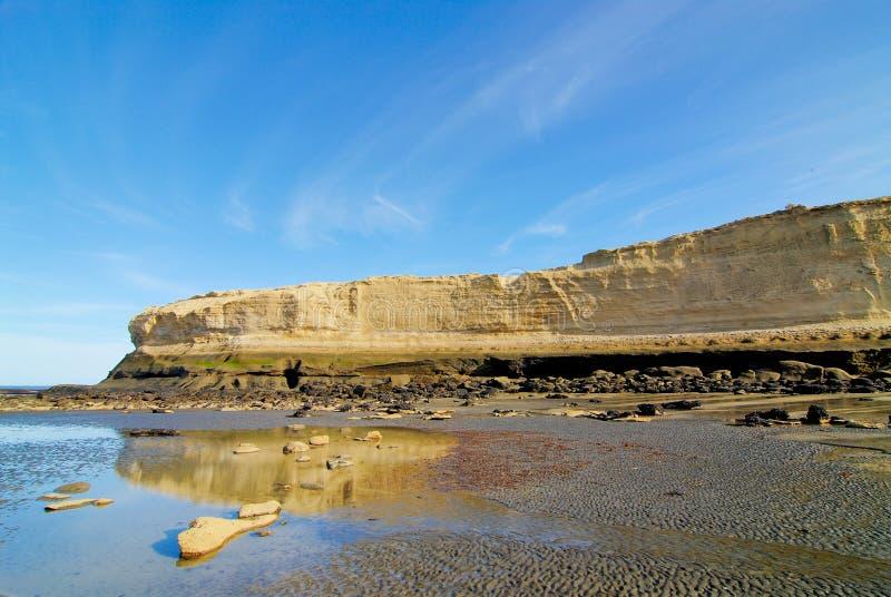 patagonia скалы стоковая фотография