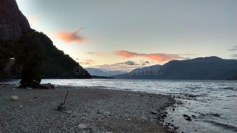 Patagonia, Argentinien De los Anden Sans Martin lizenzfreie stockbilder
