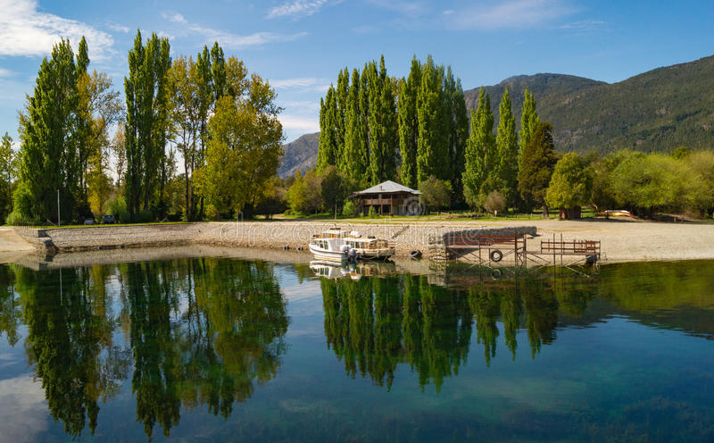 Patagonia bonito Argentina da paisagem imagens de stock