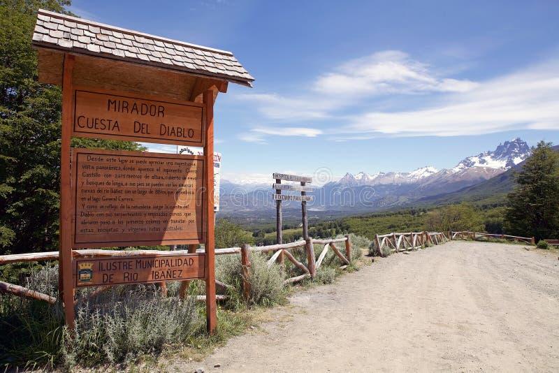 Patagonia, Chile lizenzfreies stockbild