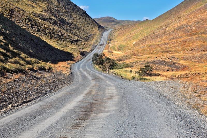 Patagonia chilena imagen de archivo libre de regalías