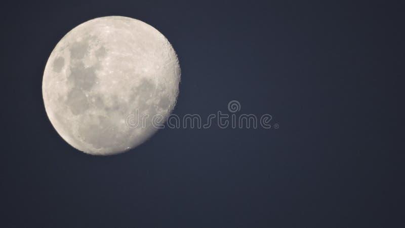 Patagonia księżyc fotografia royalty free
