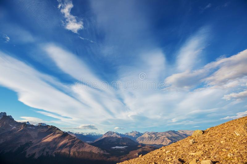 Patagonia. Landscapes in Southern Argentina stock photo