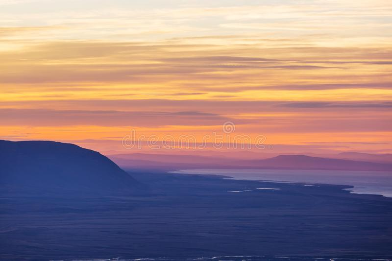 Patagonia. Landscapes in Southern Argentina stock images