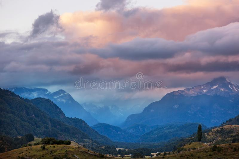 Patagonia. Landscapes in Southern Argentina stock photos