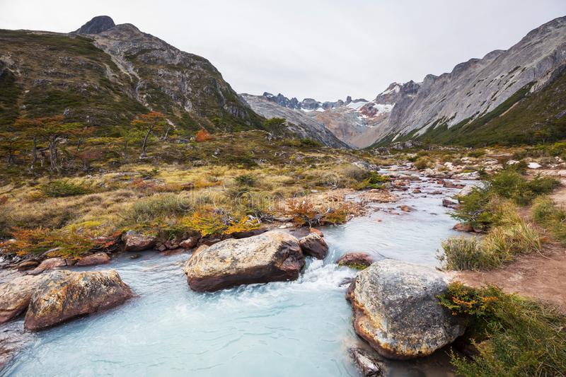 Patagonia. Landscapes in Southern Argentina royalty free stock photography