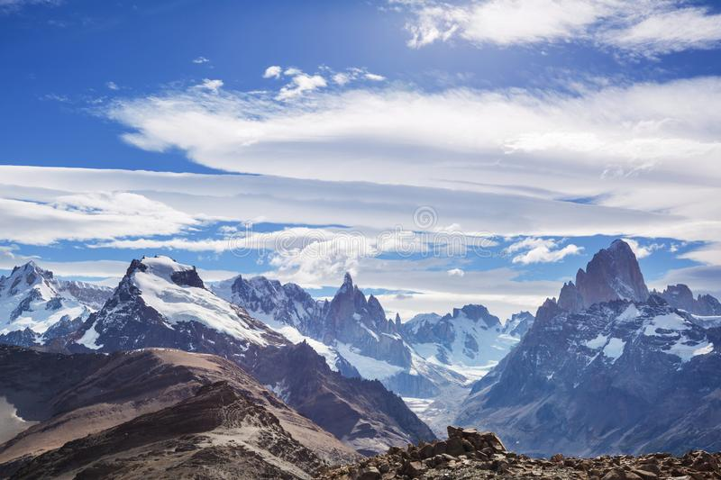 Patagonia. Landscapes in Southern Argentina royalty free stock photo