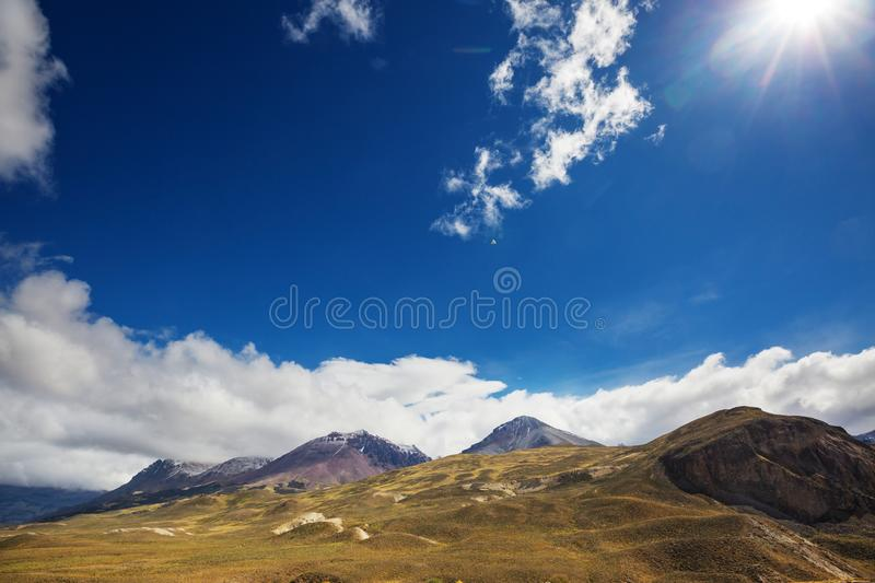 Patagonia. Landscapes in Southern Argentina stock image