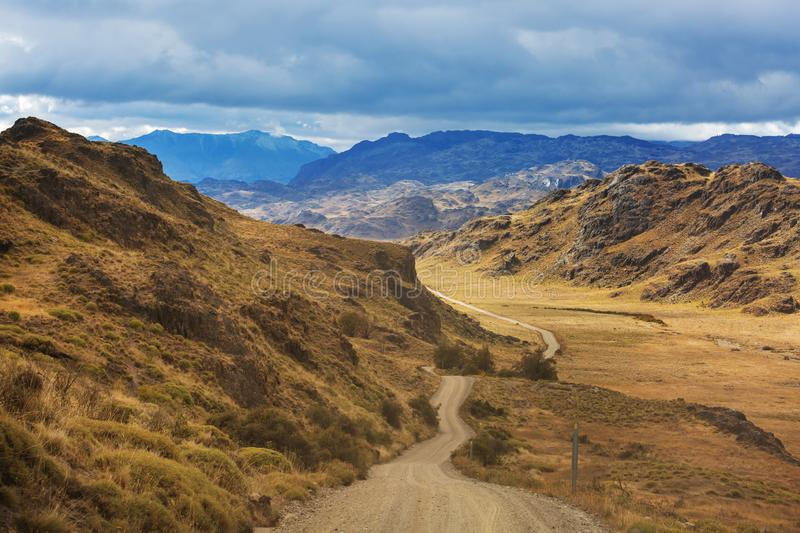 Patagonia. Landscapes in Southern Argentina stock photography