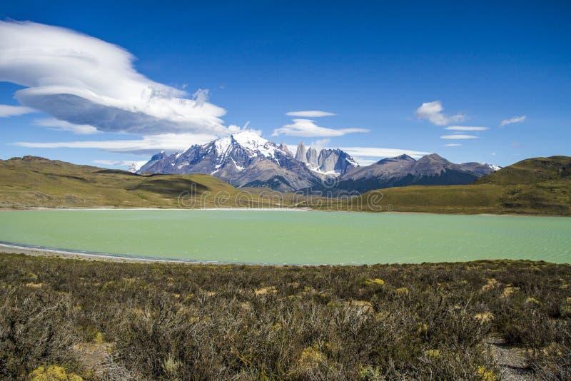 Patagonia - parc national de Torres del Paine photographie stock