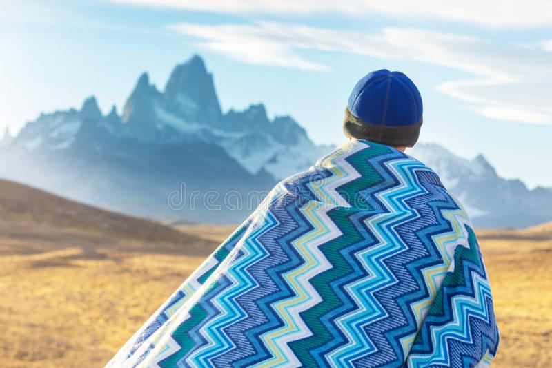 Patagonia. Landscapes in Southern Argentina royalty free stock photos