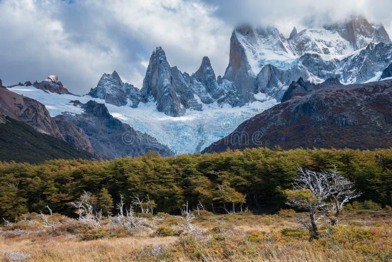 patagonia roy för argentina fitzmontering arkivbild