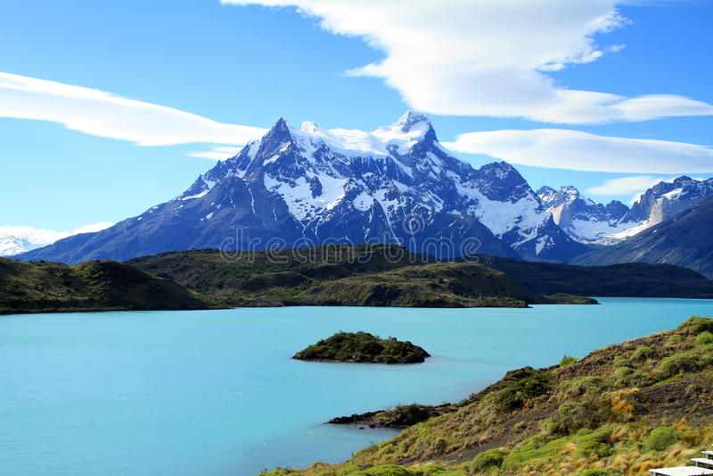 Patagonia Scenics imagem de stock