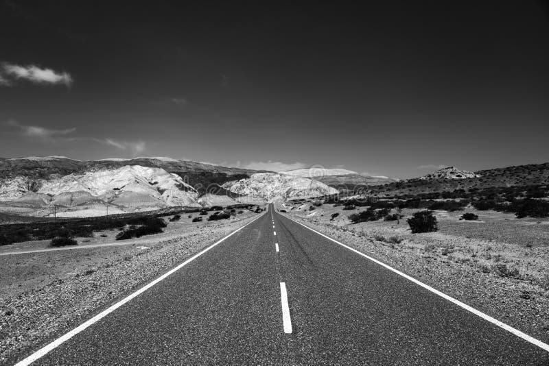 Patagonia-Straße lizenzfreies stockfoto