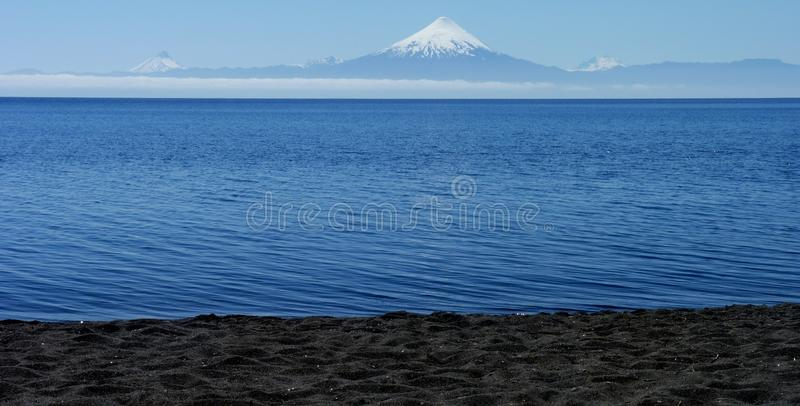 Download Patagonia Volcano stock photo. Image of snow, chile, lakes - 17803562
