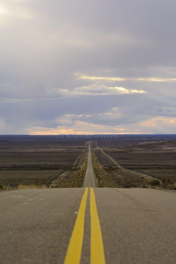 Patagonia-Wege, Argentinien lizenzfreie stockfotos