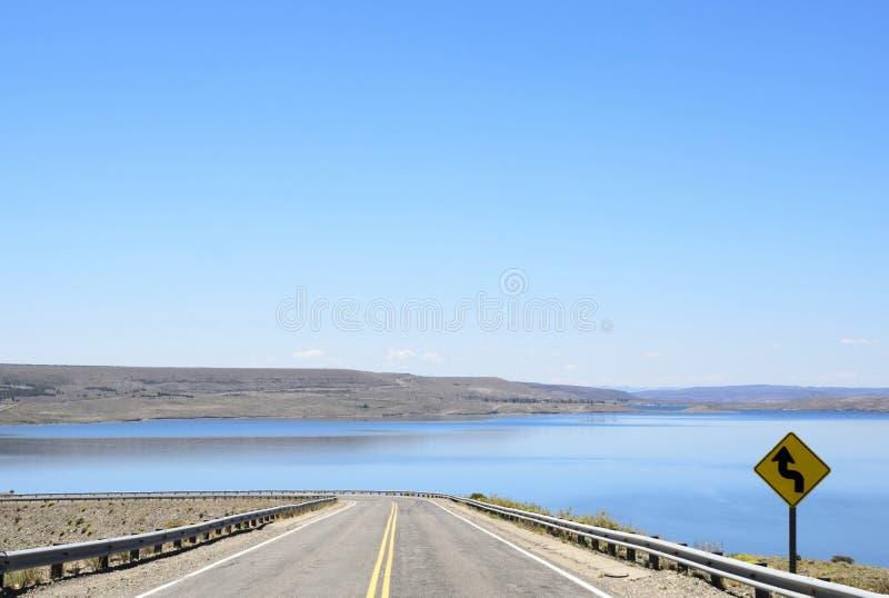 Patagonia-Wege, Argentinien lizenzfreies stockfoto