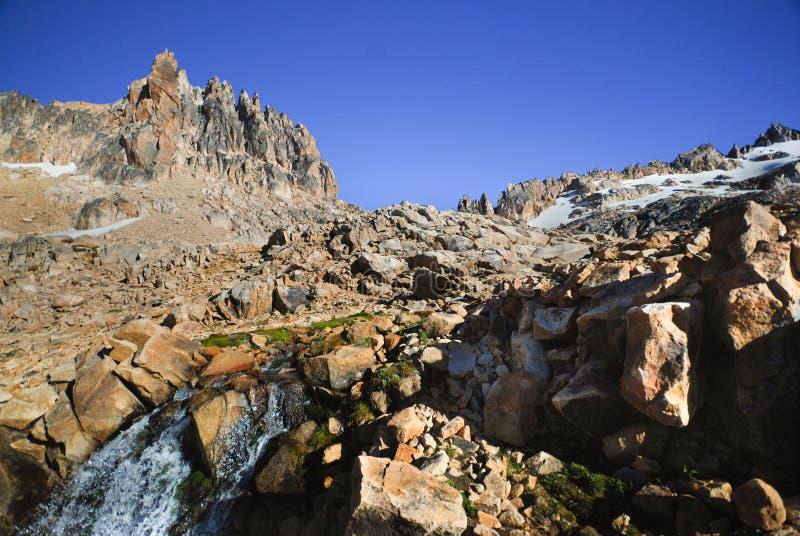 Patagoniaberg royaltyfria bilder