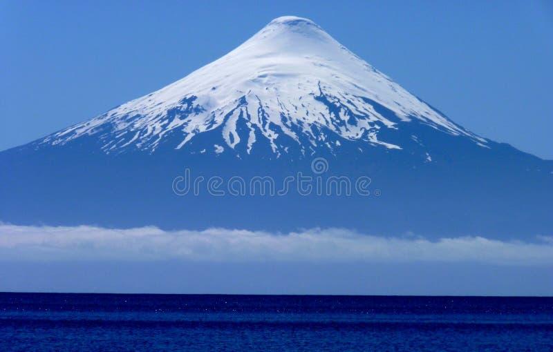 patagoniavulkan arkivbild
