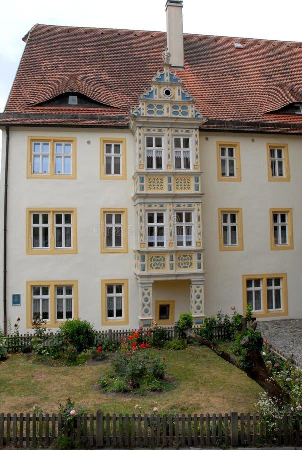 Download Patamar Branco Na Cidade De Augsburg Em Baviera (Alemanha) Foto de Stock - Imagem de você, portico: 65577342