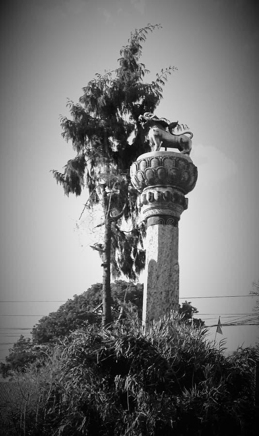 Patan旅行 库存照片