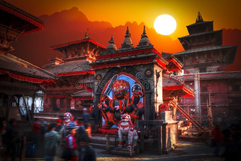 Patan. Ancient city in Kathmandu Valley. Nepal royalty free stock photos
