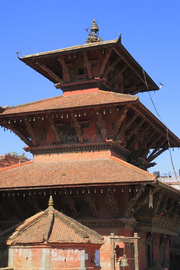 Patan Durbar广场 图库摄影