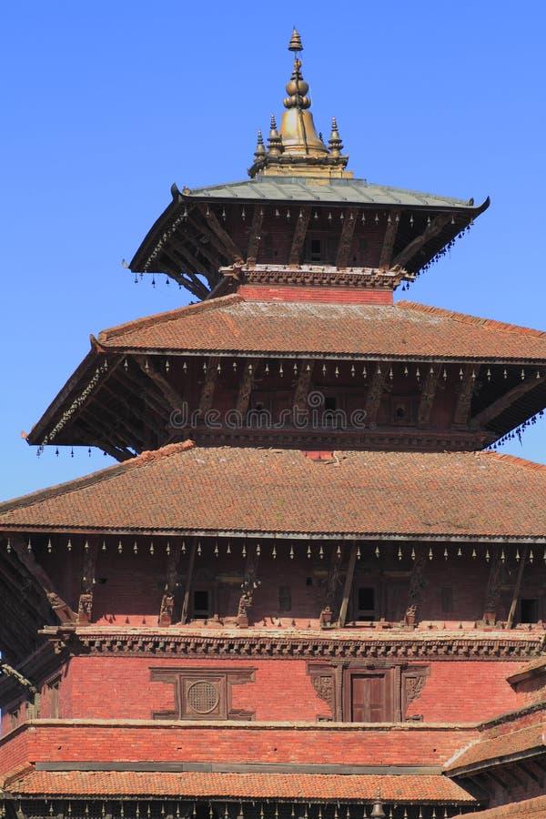 Patan Durbar kwadrat obraz royalty free