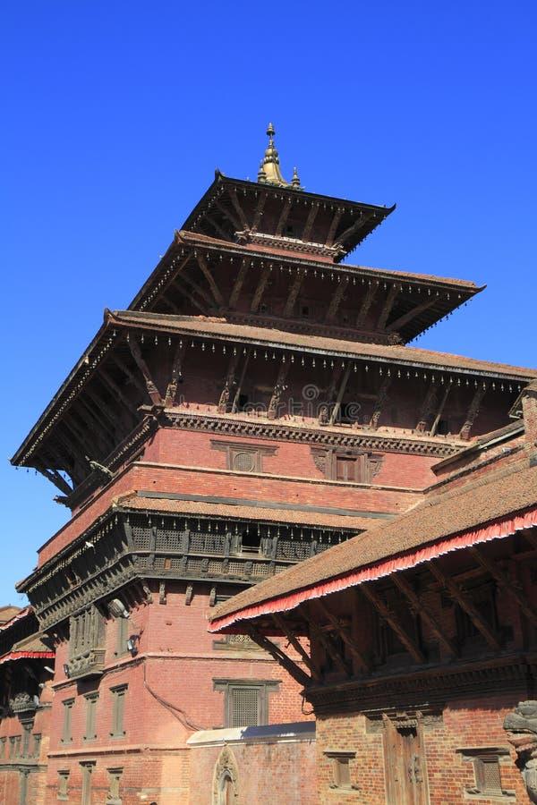 Patan Durbar kwadrat obrazy stock