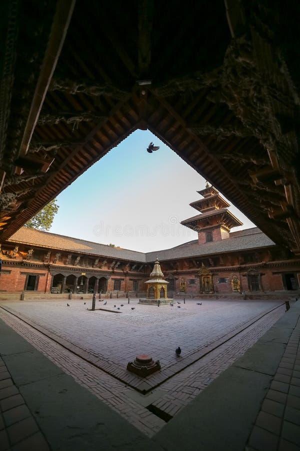 Patan Durbar Sqare obrazy royalty free