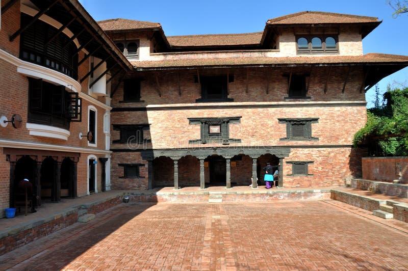 Patan Museum stock photography
