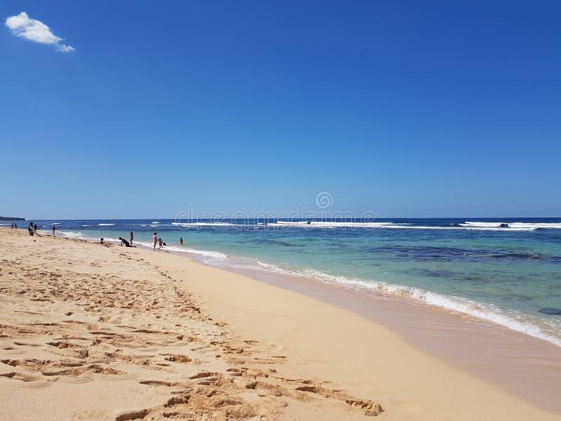 patar Strandurlaubsort Pangasinan stockfotos