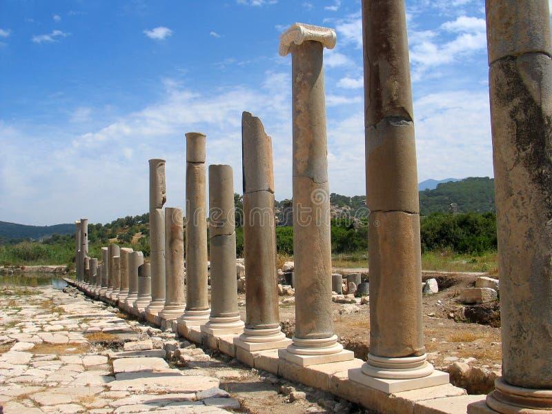 patara колонок римское стоковые фотографии rf