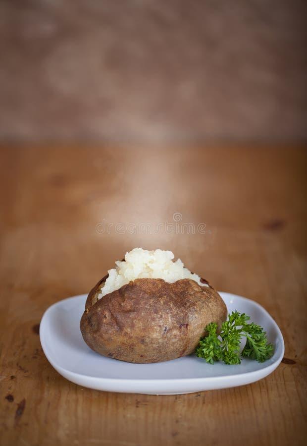 Patata al forno fotografia stock
