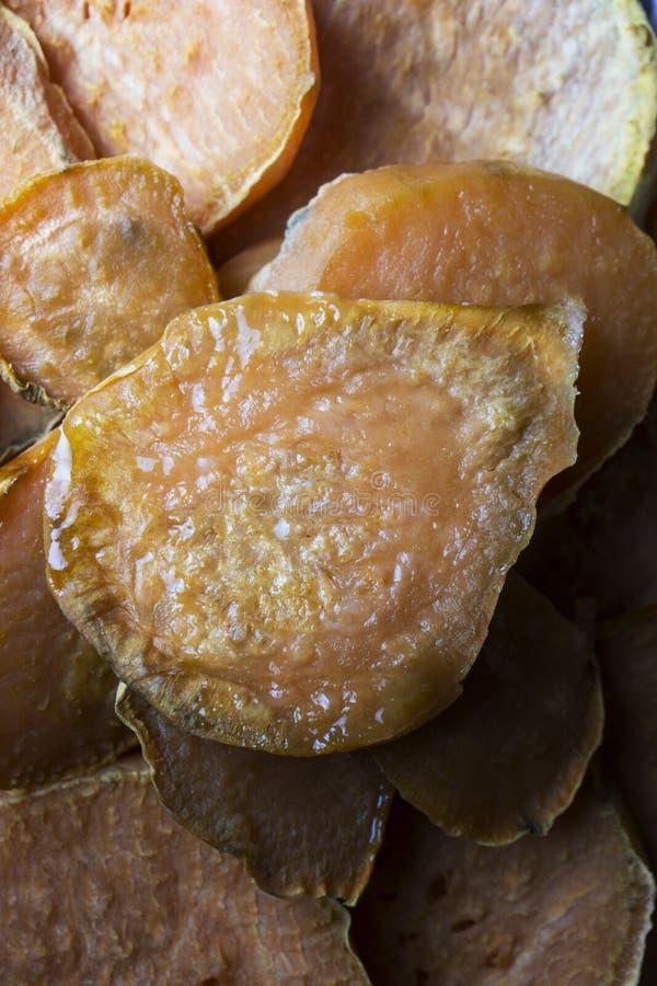 Patata dolce cucinata casalinga fotografia stock libera da diritti